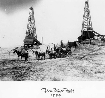 Kern River Oil Field in 1899