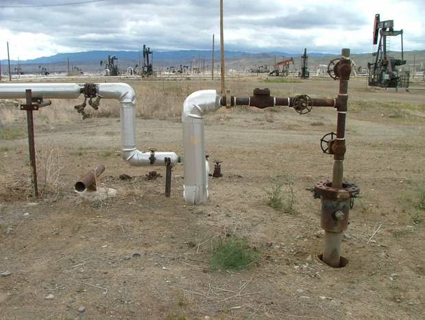 Chevron-steam-injection-well